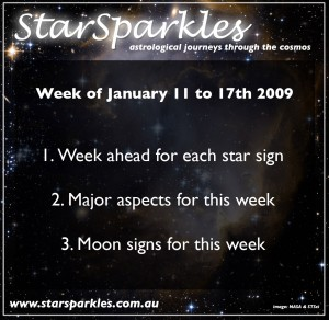 StarSparkles podcast for January 11 2009