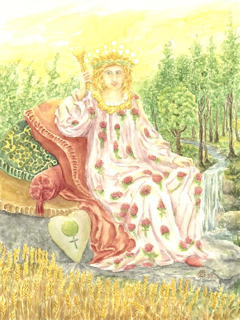 The Empress Tarot Major Arcana