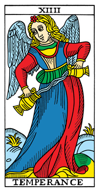 Temperance Tarot Card #Today #tarot